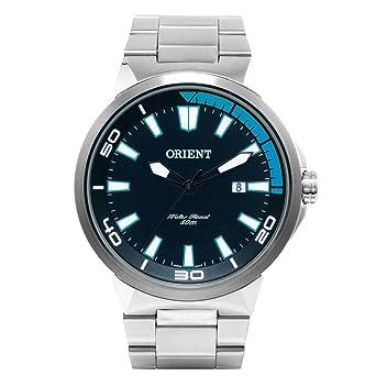 ee13ca753bb Relógio Masculino Orient Analógico Esportivo MBSS1196A PASX - Prata ...