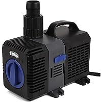 mia.home SuperECO - Bomba de filtración para estanque (3000 L/h, 3600 L/h, 4500 L/h, 5200 L/h, 8000 L/h, 10000 L/H), 3000L/H