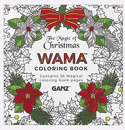 ganz wama merry christmas coloring book er28561