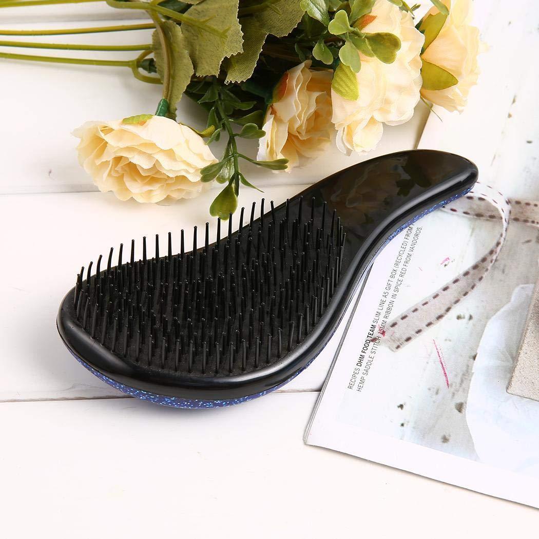 Pincel para desenredar: peine de masaje para desenredar, cepillo de pelo sin dolor, alisador que elimina los enredos y los nudos.: Amazon.es: Belleza