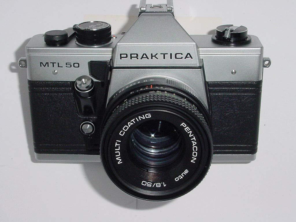 Praktica mtl 50 analoge spiegelreflexkamera inkl. objektiv