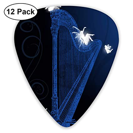 Amazon com: V5DGFJH B Pedal Harp Fairies Classic Guitar Pick