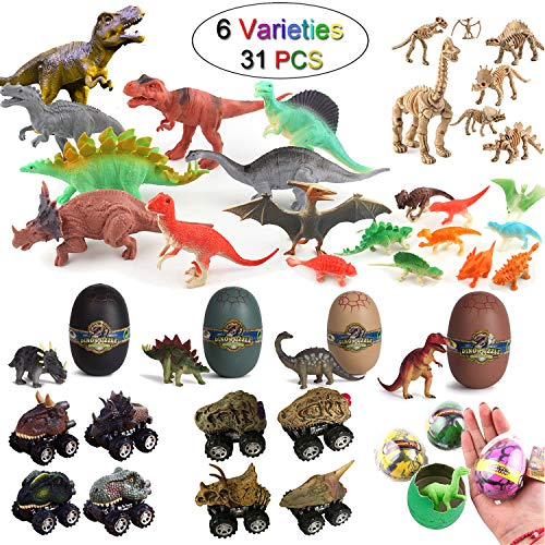 The Ultimate Dinosaur Toys Bundle 28 PCS Creative Gifts For Kids 7