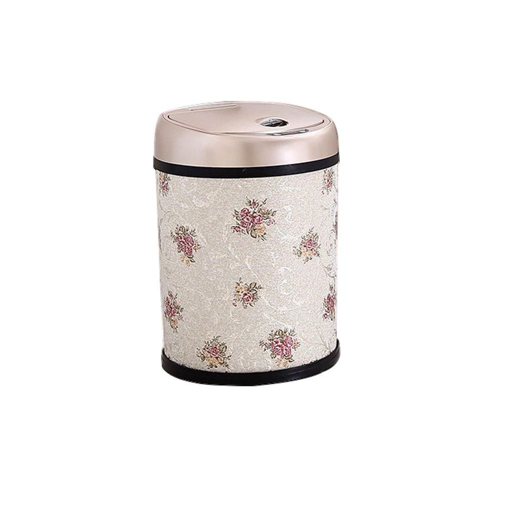 Mülleimer- Mülleimer Sensor Smart Sensor Lade Schlafzimmer Küche Wohnzimmer (Muster : A, größe : 12l)
