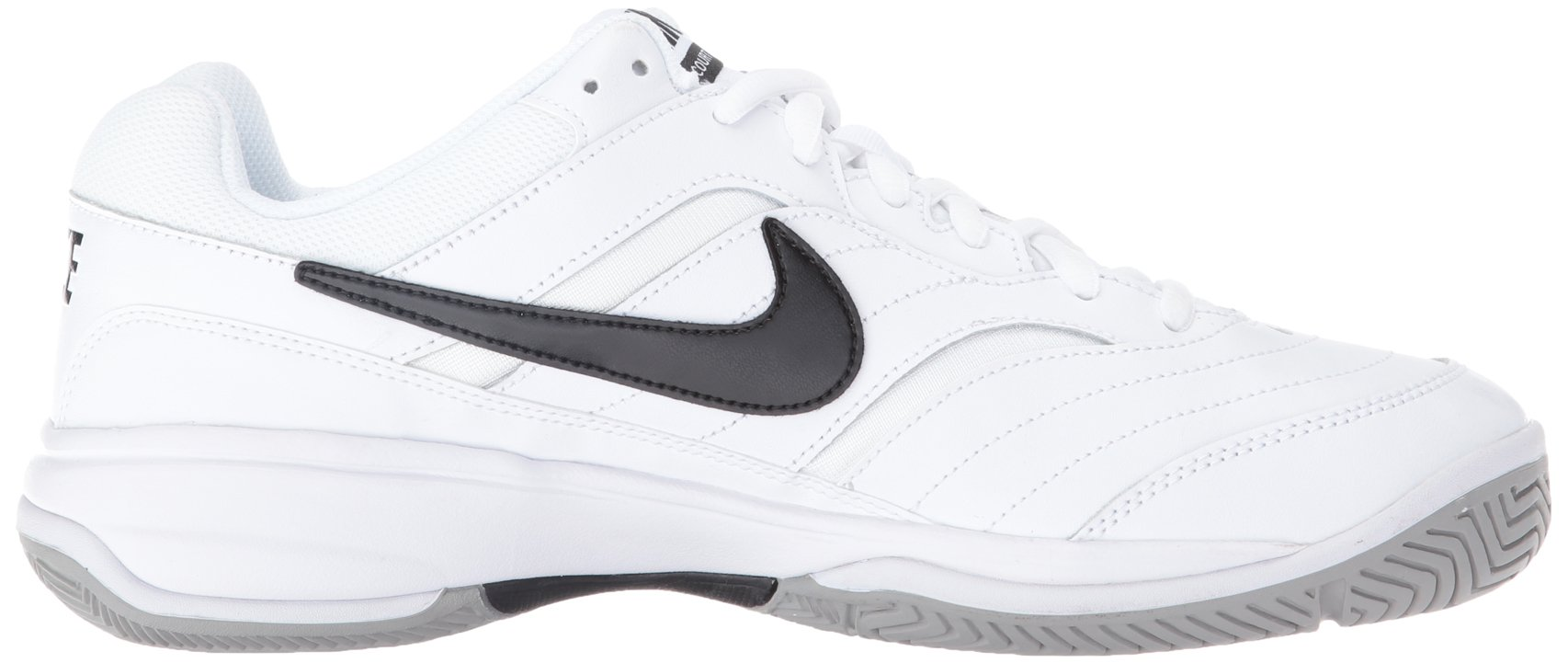 NIKE Men's Court Lite Tennis Shoe, White/Medium Grey/Black, 6.5 D(M) US by Nike (Image #7)