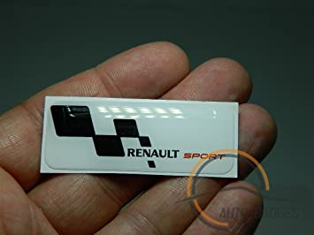 Auto Badges Renault Sports Badge Emblem Amazon Co Uk Car Motorbike