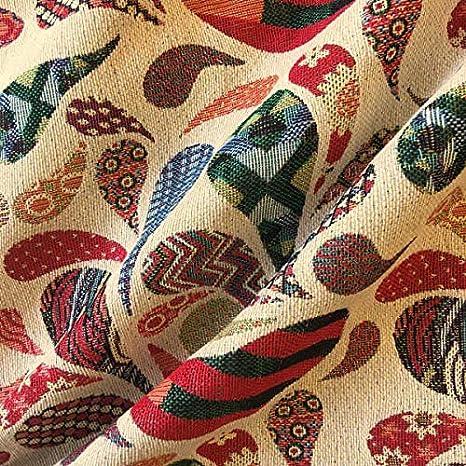 Tela por metros de tapicería - Jacquard Gobelino - Ancho 280 cm ...