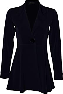 product image for Eva Varro L/SL. Empire ONE Button Jacket Fused, Navy