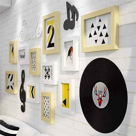 Muro fotográfico Creativo/Muro Creativo para portarretratos/Portaretrato / Pared de Madera, Muro