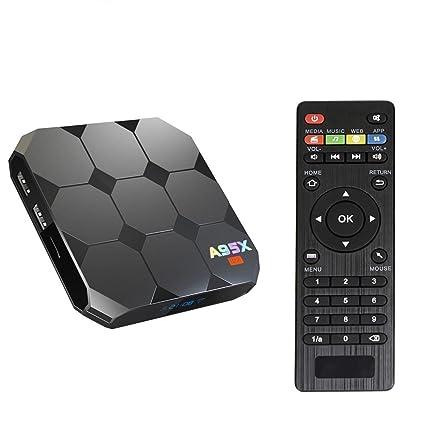 Sawpy A95X R2 Android TV Box Android 7 1 Smart TV Box CPU 2GB 16GB 64bit  Quad Core 4K UHD WiFi LAN VP9 DLNA