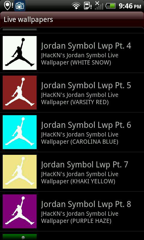 Amazon Retro Jordan Symbol Live Wallpaper Appstore For Android