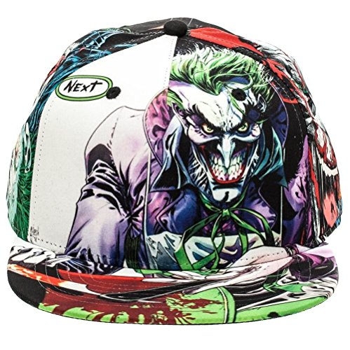 DC Comics The Joker Sublimated All Over Print Snapback