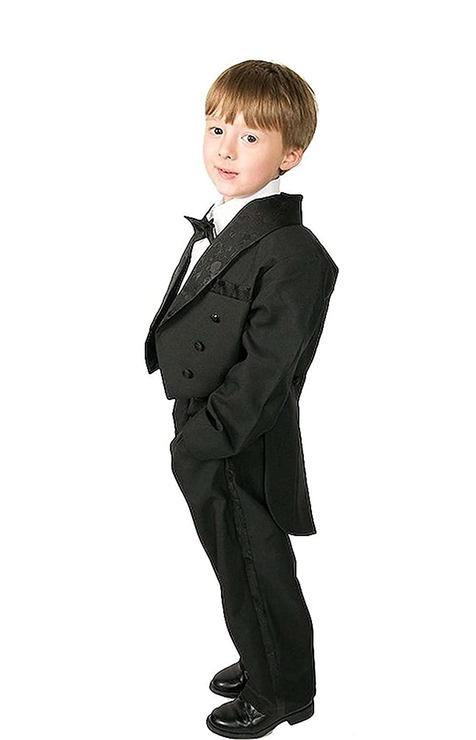 Kelaixiang Boys Formal Slim Fit Wedding Suit 2Pcs Prom Jacket Pants Suits Special Occasion