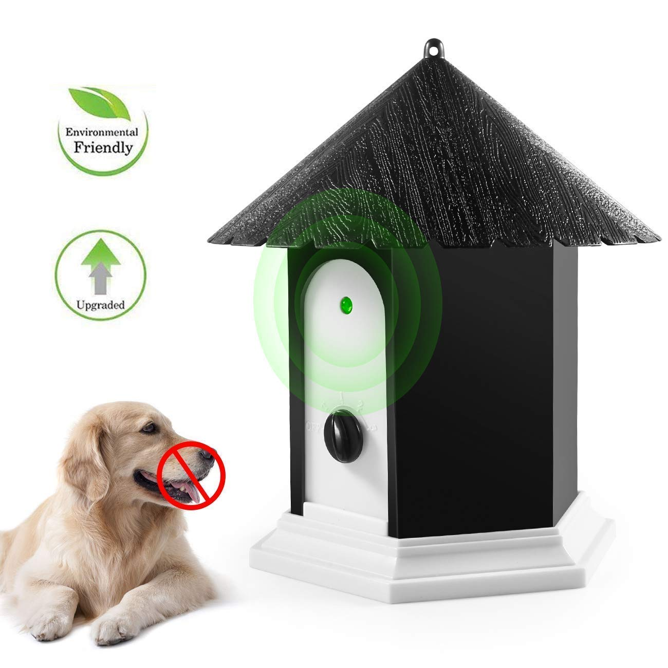 Anti Barking Device, Bark Box Dog Barking Control Devices, Ultrasonic Sonic Dog Repellent Anti Bark Deterrents Devices, Bark Control Device, Birdhouse Barking Deterrent, Dog Repellent, Bark Control by Ankuwa