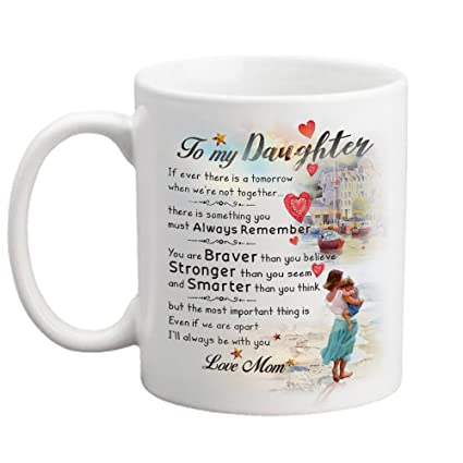 amazon com gift for daughter mother daughter gift 11oz cup