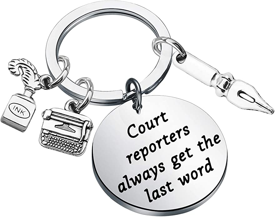 Got speed?  Write fast /& clean graduation gift for court reporting students Hand stamped inspiration bracelet for court reporters 225