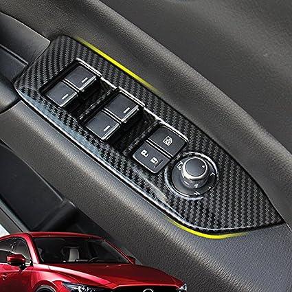 High Flying Für Cx 5 Cx5 Kf 2017 2020 Kohlefaserfarbe Interieur Türverkleidungen Dekor 4 Stück Abs Kunststoff Auto