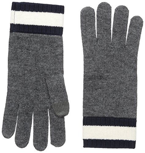 Lacoste Womens Contrast Wrist Jersey Gloves