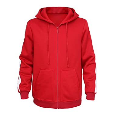 d7f83f7a8cdc Mukola Boys Coco Miguel Hoodie Fleece Full Zip Sweatshirts Costume (Red