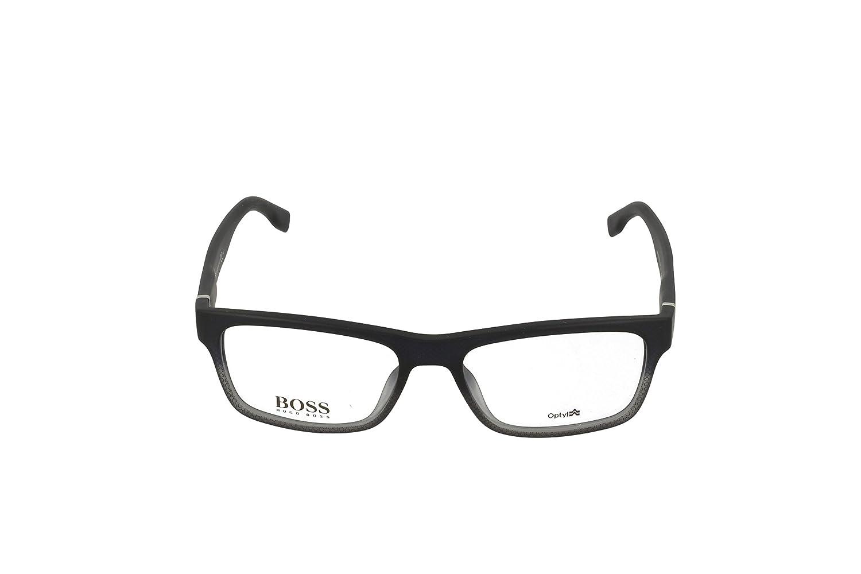 7efeab72ce8dd Boss hub Boss 0729 0KAY Black Tex Gray Eyeglasses  Amazon.ca  Sports    Outdoors