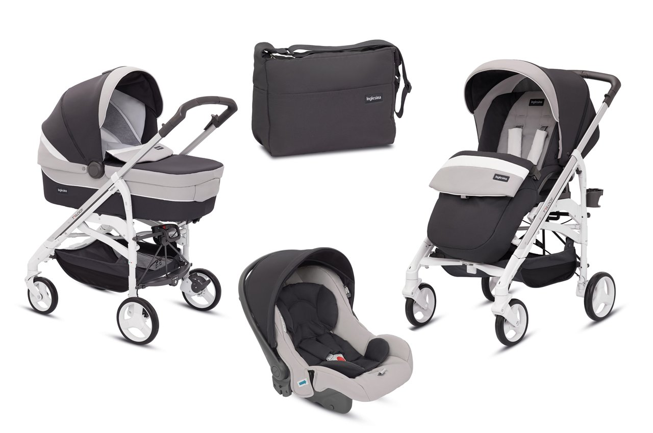 Amazon.com: Inglesina Trio Travel System Trilogy Grafite ...