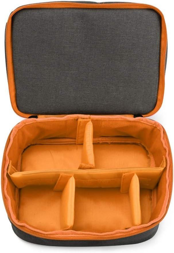 Hshihai Carrier-Bag Knapsack New Professional Nylon Material SLR Camera Bag Portable Diagonal Bag Camera Bag Shoulder Camera Bag Camera Bag Size 20.5 25.529cm Orange Handbag