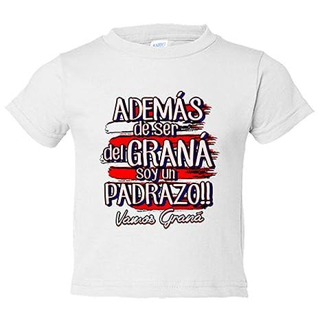 Camiseta niño además de ser del Graná soy un padrazo Granada fútbol - Blanco, 3