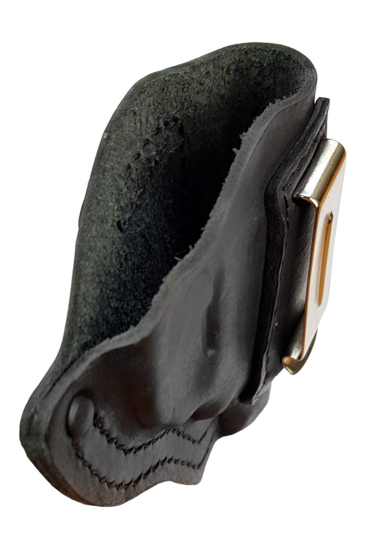 IWB 13 Leder Revolver Holster für RÖHM RG 89 N schwarz VlaMiTex
