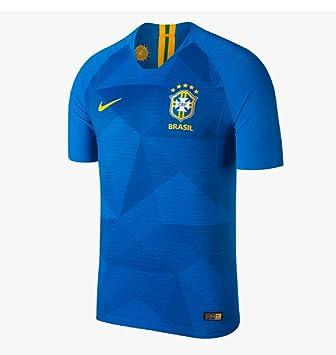 Nike Brasil CBF Stadium Away - Camiseta para niño, Infantil, 893969-453,