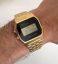 Amazon.com: Casio A159WGEA-1EF Casio Gold Classic