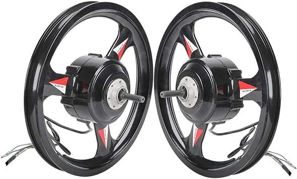 GZFTM 36 V 48 V 500 W 20 pulgadas BLDC motor rueda de transmisión ...