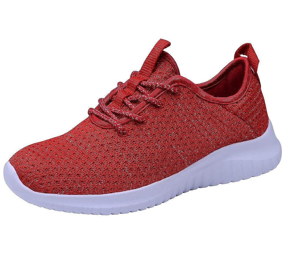 TIOSEBON HK2111 Damen Turnschuhe Medium Rot - 2111 rot - Größe  40