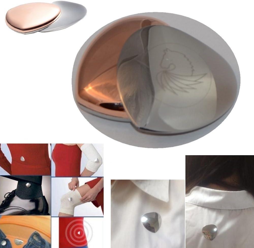 Healifty 10 St/ück Kupfer Magnetverschluss Bling Strass Magnet Konverter f/ür Armband Halskette Schmuck Machen Goldene Gr/ö/ße S