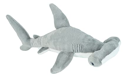 Amazon.com  Wild Republic Hammerhead Shark Plush 9e9323e7d