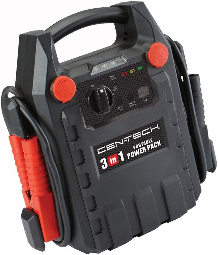 Centech Brand New 3-in-1 Jump Starter and Power Supply: Amazon.es: Deportes y aire libre