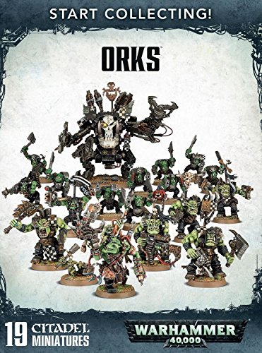 Games Workshop Warhammer 40,000 Start Collecting! Orks