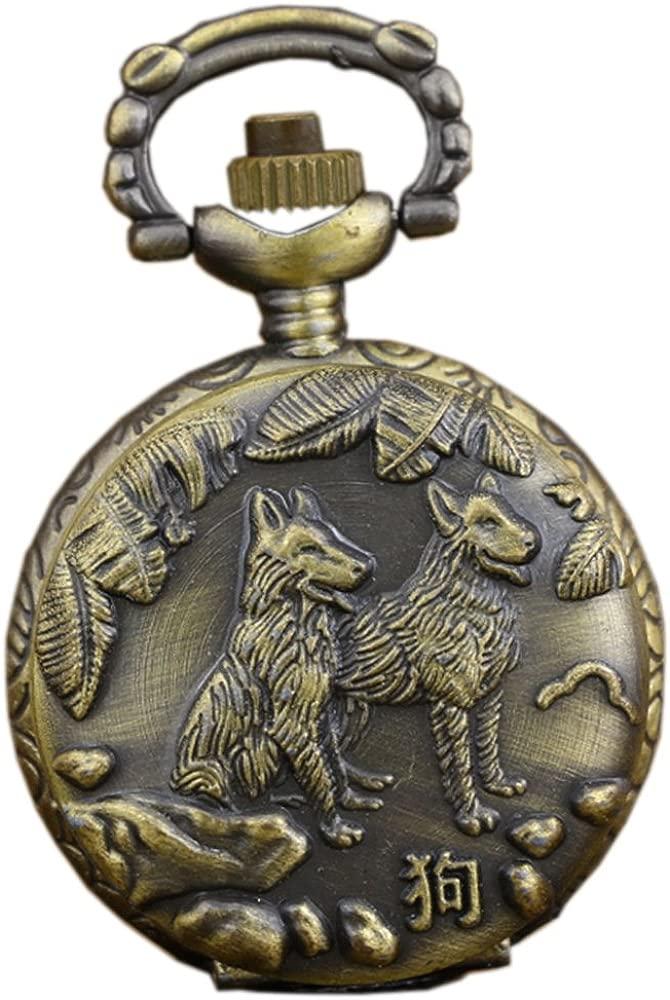 Antiguo reloj chino del collar del reloj de bolsillo del ...