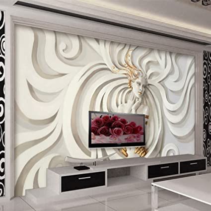 Colomac Wall Mural Modern Abstract Art 3d Stereo Embossed