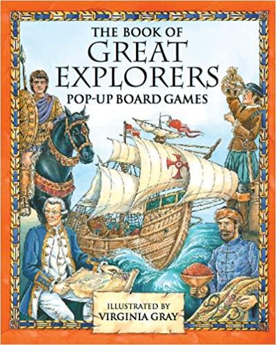 Read Great Explorers Pop-Up Board Games PDF, azw (Kindle), ePub