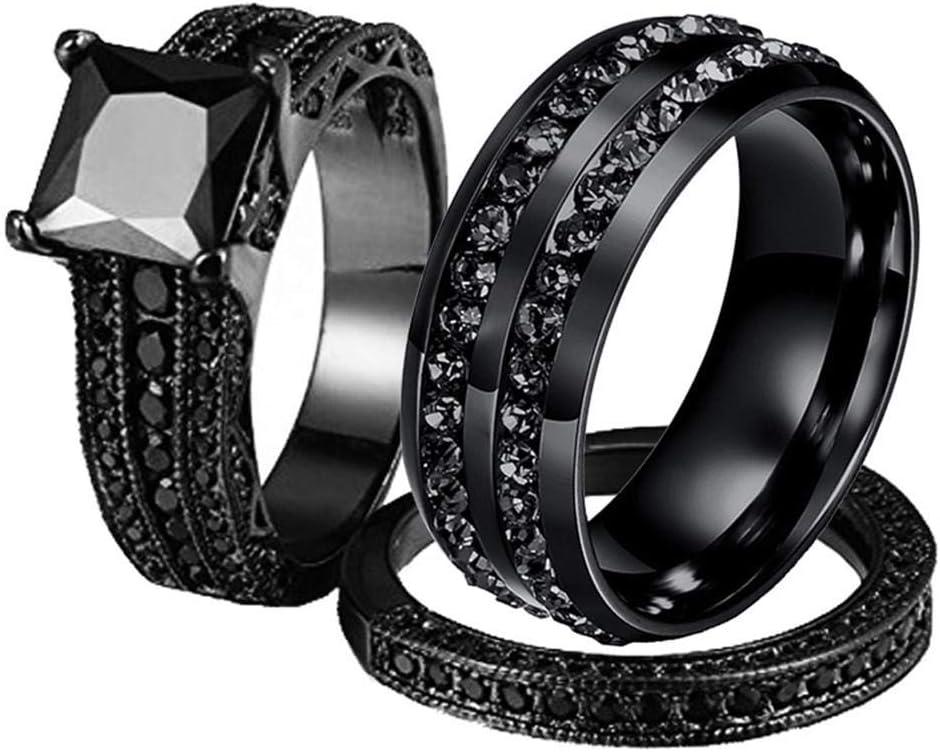ejemplo de anillo color negro