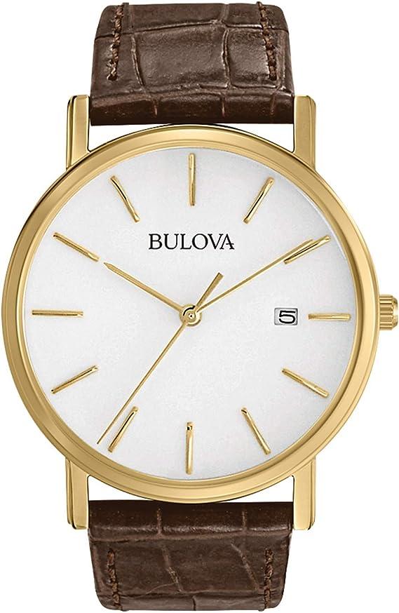 Amazon.com: Bulova 97B100 reloj de acero inoxidable en tono ...