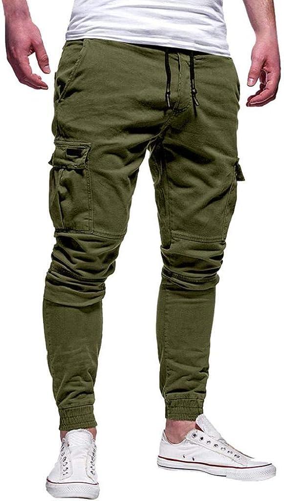 QUICKLYLy Pantalones Vaqueros Hombre Rotos Pitillo Elasticos Skinny Ajustados Trekking Casual Chandal Montaña Moto Slim Fit Modernos Chaqueta,Sport Vendaje Sueltos Cordón PantalónM-3XL