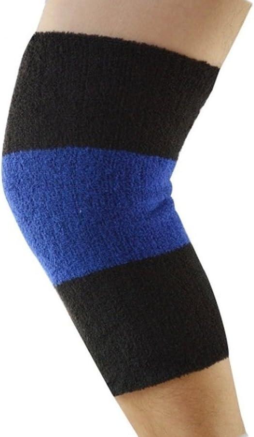 Ericotry Unisexe Thermique genouill/ère jambi/ères Hiver genouill/ères jambi/ères Manches Soutien Protecteur pour Yoga Ski Cyclisme Danse Courant arthrite tendinite