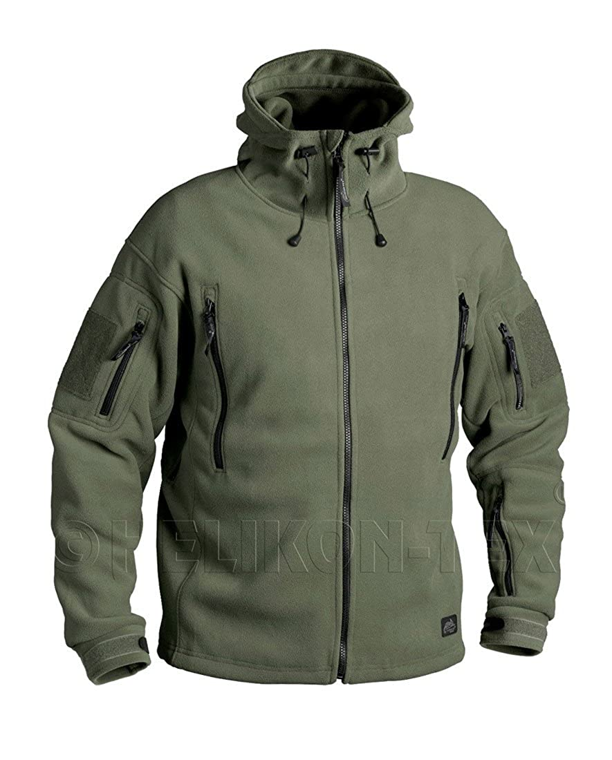 Helikon Men's Patriot Softshell Tactical Jacket Double Fleece Security Army Military