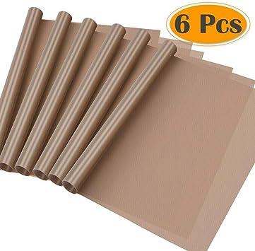 Premium Teflon Non Stick Sheet Heat Transfer Machine Craft Sublimation PTFE 6 x 14