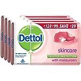 Dettol Soap Skincare, 75g (Pack of 4)