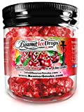 Cherry Licious 250G Ultra Premium Beamer Ice Drops Hookah Shisha Smoking Gel. Each bowl lasts 2-4 Hours! USA Made, Huge Clouds, Amazing Taste! Better Taste & Clouds than Tobacco!