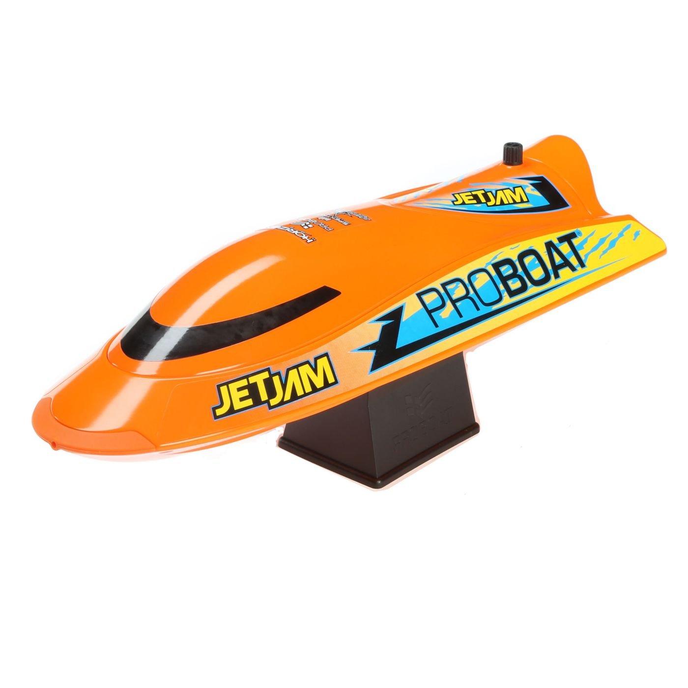 Pro Boat Jet Jam 12'' Pool Racer, Orange: RTR, PRB08031T1