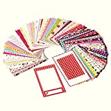 Polaroid Colorful, Fun & Decorative Photo Border Stickers For 2x3 Photo Paper Projects (Snap, Zip, Z2300) - Pack of 100