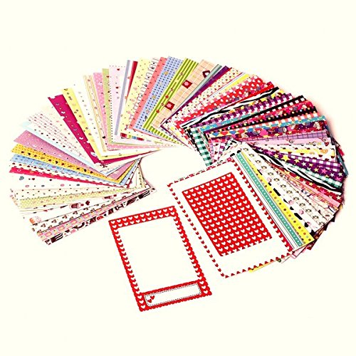 Polaroid Originals PL-2X3FRS Colorful, Fun & Decorative Photo Border Stickers For 2x3 Photo Paper Projects (Snap, Zip, Z2300) - Pack of 100